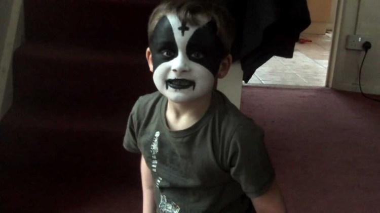 black-metal-child