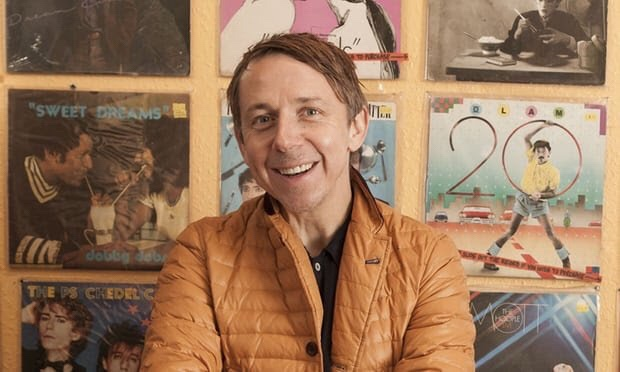 Gilles Peterson at Lucky 7 Record Shop, London. Photograph: Laura Lewis/Rex/Shutterstock