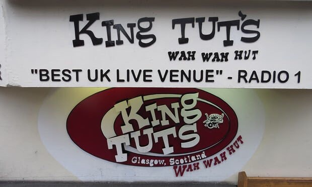 Glasgow's King Tut's, where Alan McGee spotted Oasis. Photograph: PR