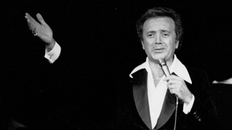Vic Damone performs at Garden State Arts Center on August 29, 1979 in Holmdel, New Jersey. Bobby Bank/WireImage