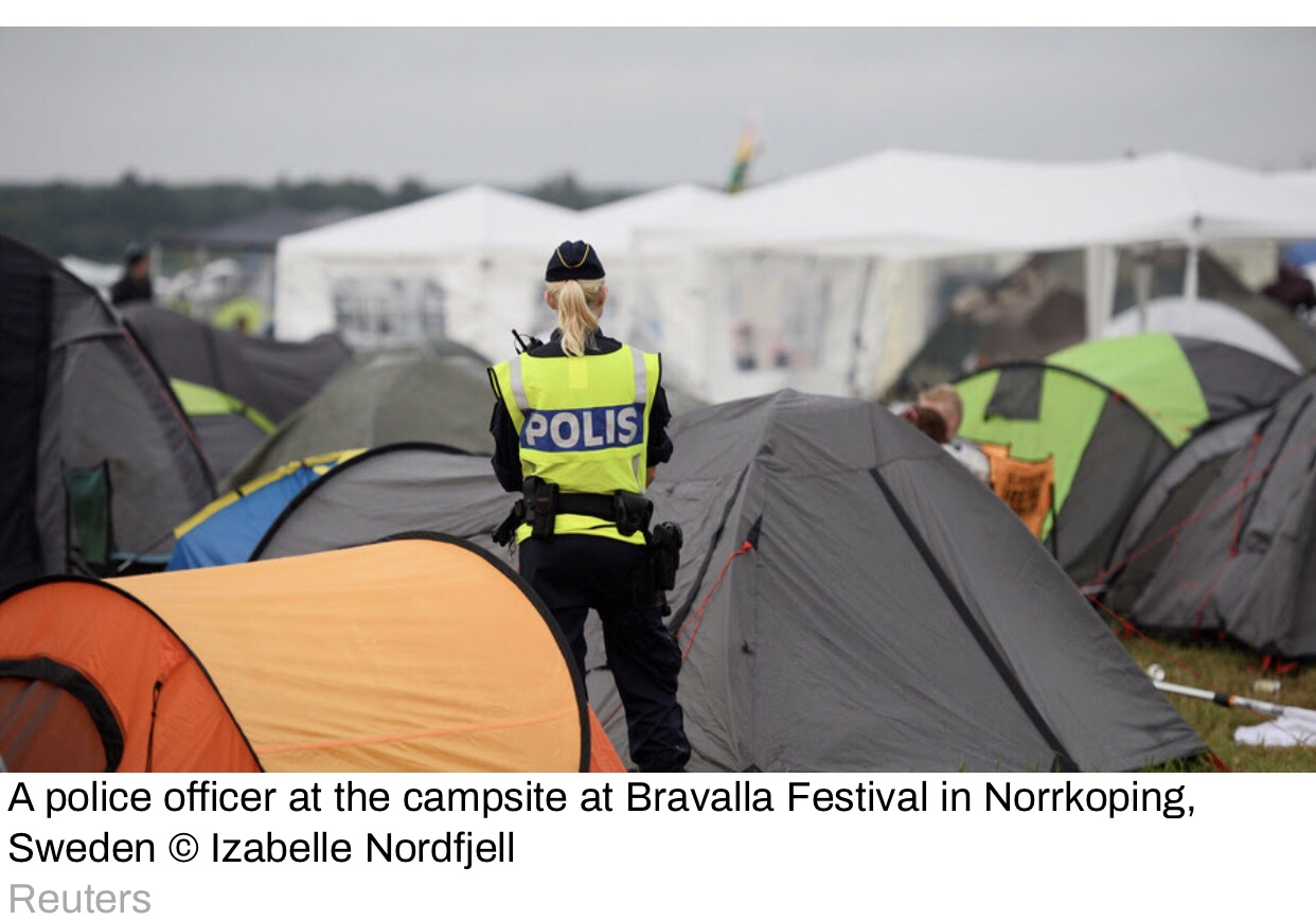 Rape Festival: Dozens of Harassment Claims Held by the Swedish Police